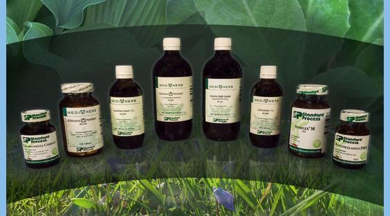 Standard Process and MediHerb Supplements