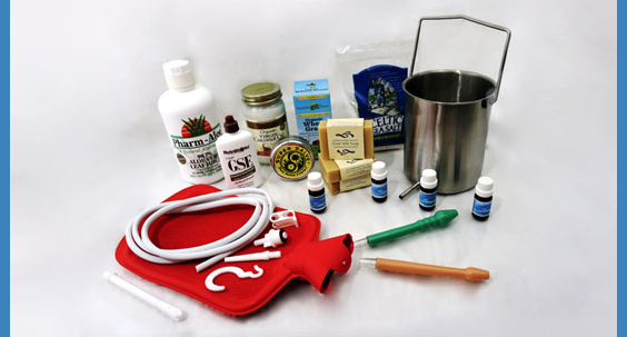 colon cleanse and enema products