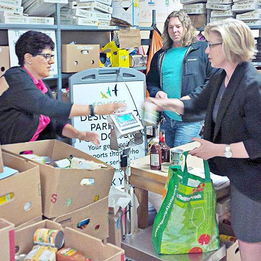 Sources Langley Food Bank