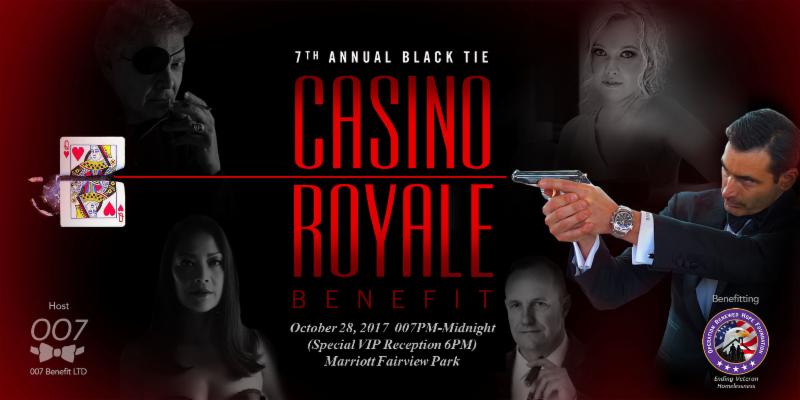 2017 Casino Royale Benefit Banner