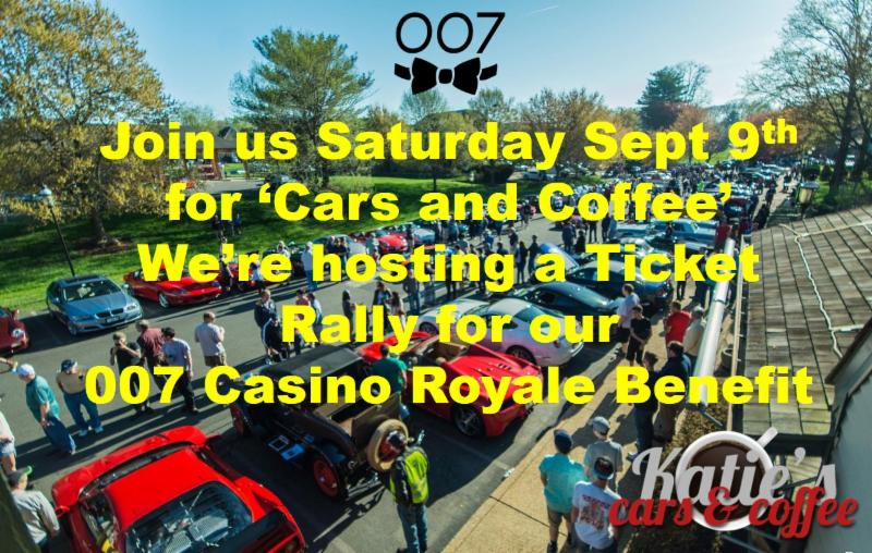 Ticket Rally at Cars and Coffee