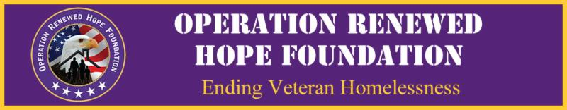 Operation Renewed Hope Foundation