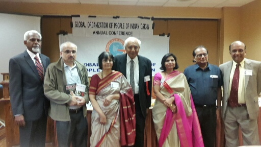 GOPIO Conference session on Diaspora Writers Forum