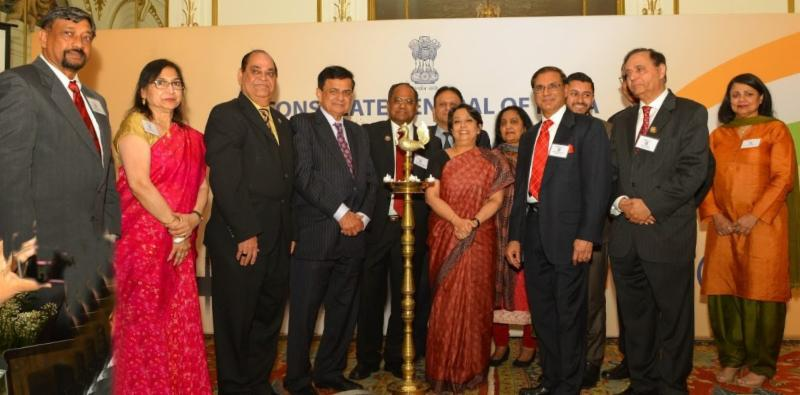 GICC Launch in New York, Lighting of the Lamp