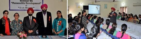 GOPIO News Associate Editor Harmohan Singh Walia's visit to Sainik Institute, Hoshiarpur