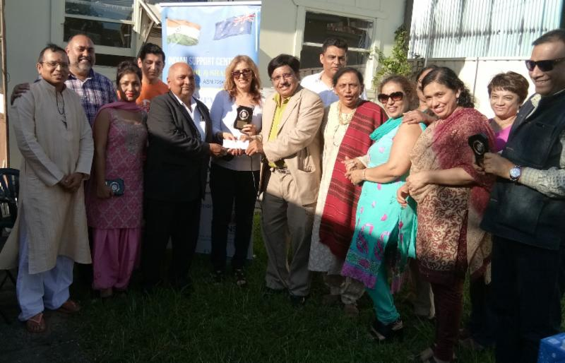 GOPIO Sydney Presents Check to Indian Support Centre (ISC)