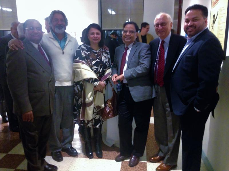 GOPIO-CT Officials with Niti Ayog Vice Chairman Prof. Arvind Panagariya