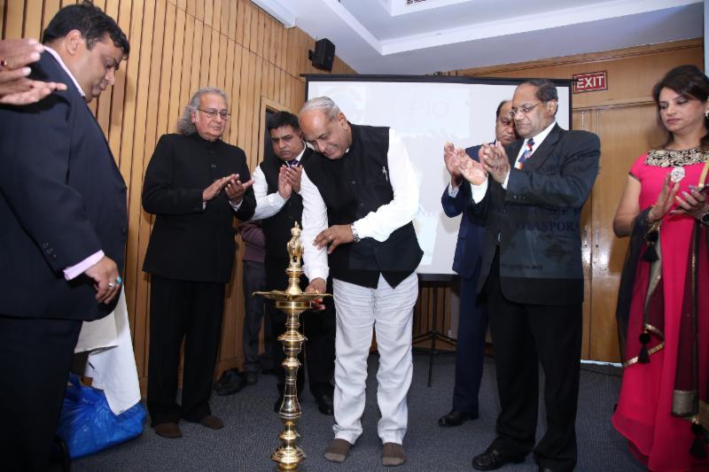 GOPIO-Delhi.NCR inauguration by Mauritius High Commissioner Jagdishwar Goburdhan