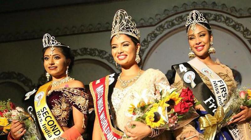 Madhu Valli crowned as Miss Indian Worldwide