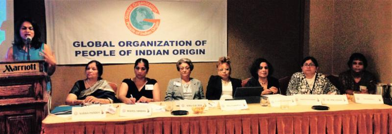 GOPIO Conference Session on Diaspora Women's Forum
