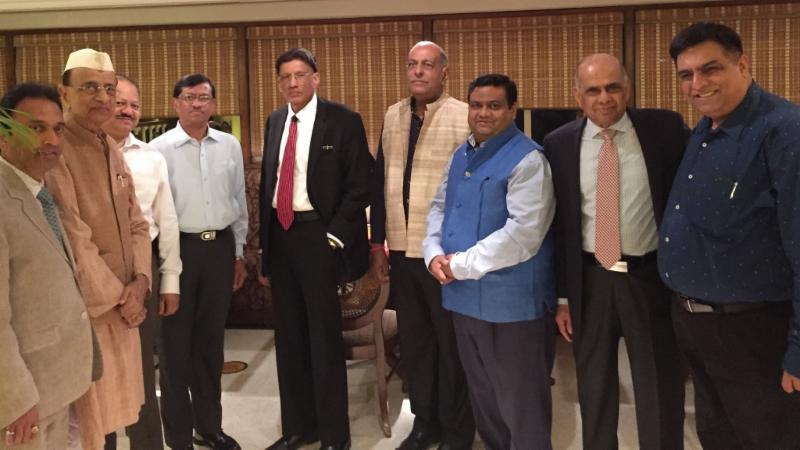 GOPIO-Delhi.NCR Reception for HR Shah on April 13th at the Habitat Cener