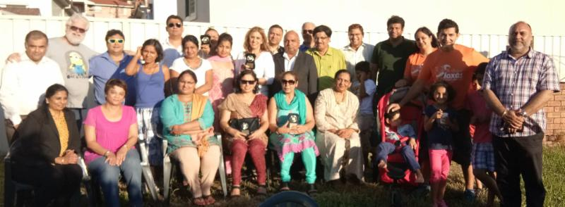 Group photo at the occasion of GOPIO Sydney Presents Check to Indian Support Centre (ISC)