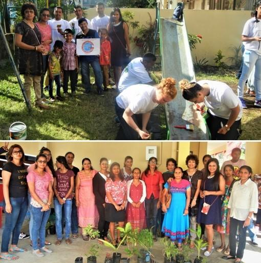 GOPIO Triolet N.Mauritius.Environment Day 2017 Celebrations