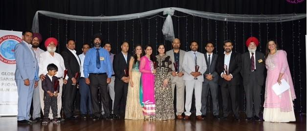 GOPIO-Sydney NW Annual Frundraiser.Officials with Sponsors