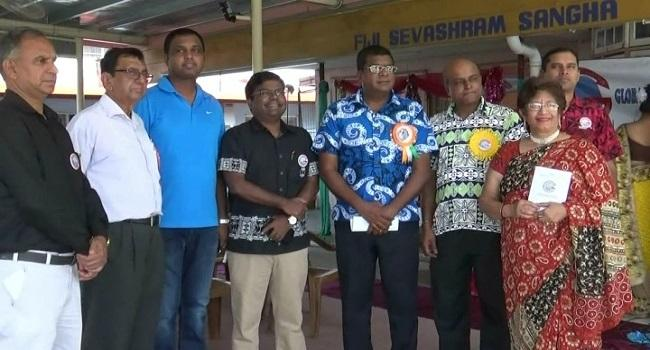 GOPIO-Suva launched in-Fiji. Group Photo with Minister Mahendra Reddy