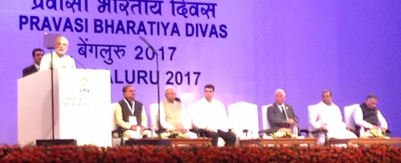 Prime Minister Narendra Modi inaugurating PBD 2017 Convention