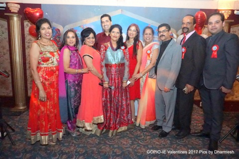 GOPIO-Inland Empire Chapter's Valentines Day 2017 Dinner and Dancing