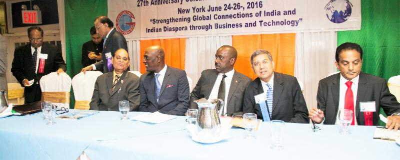 Cricketer Vivian Richards at the Finale GOPIO Banquet