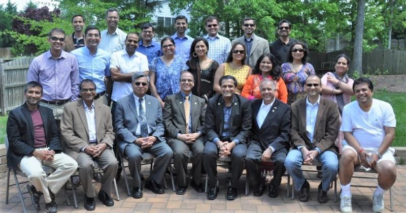 GOPIO-Richmond Officers with GOPIO Intl. representatives at the launch