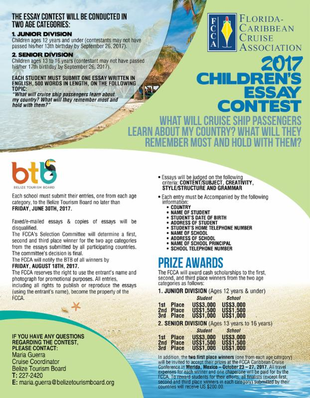 fcca children s essay competition