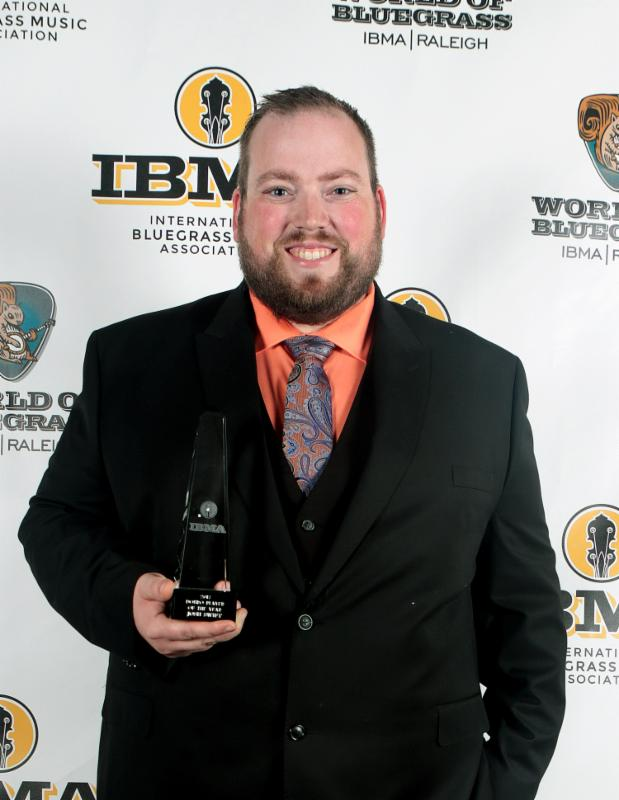 Josh Swift  2017 IBMA Dobro Player of the Year  by photographer Dave Brainard for IBMA