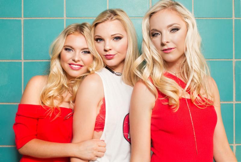Southern Halo  Hannah, Christina and Natalia   Credit - Chuck Arlund