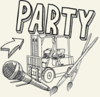 Party graphic