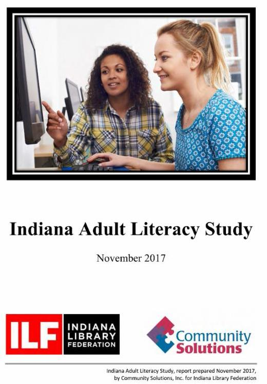 Cover of Adult Literacy Study