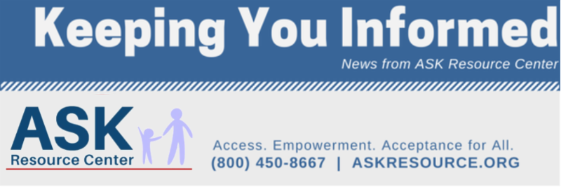 Keeping You Informed e-news banner with ASK logo and contact info