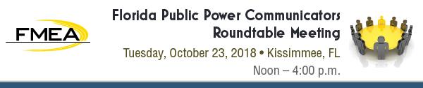 Florida Public Power Communicators Roundtable