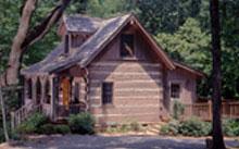 Log Home with Lifeline Finish