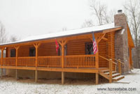 Honest Abe Log Home