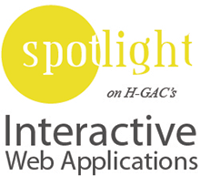 Spotlight on interactive web applications