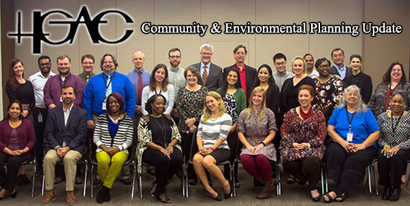 H-GAC Community and Environmental Department staff
