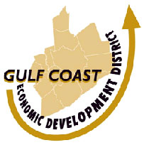 Gulf Coast Economic Developmetn District Logo