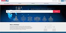 Screen shot of HGACBuy website