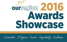 2016 Our Great Region Awards Showcase Cover