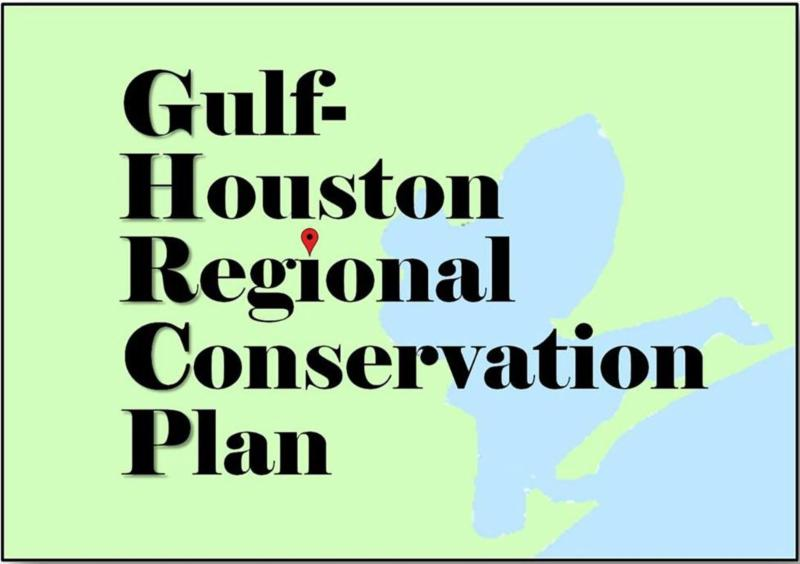 Gulf Houston Regional Conservation Plan logo