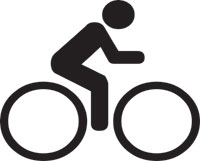 symbol of a bicycle