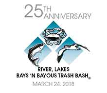 Trash Bash 25th Anniversary logo