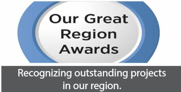 Our Great Region Awards logo
