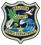 Brazoria county parks logo seal