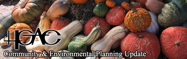 Gourds behind H-GAC Community and Environmental News