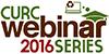 CURC webinar series logo
