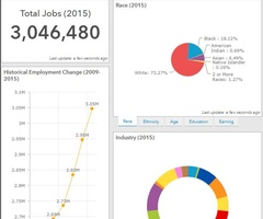 Employment snapshot screenshot