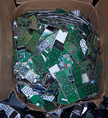 used electronics for in a box