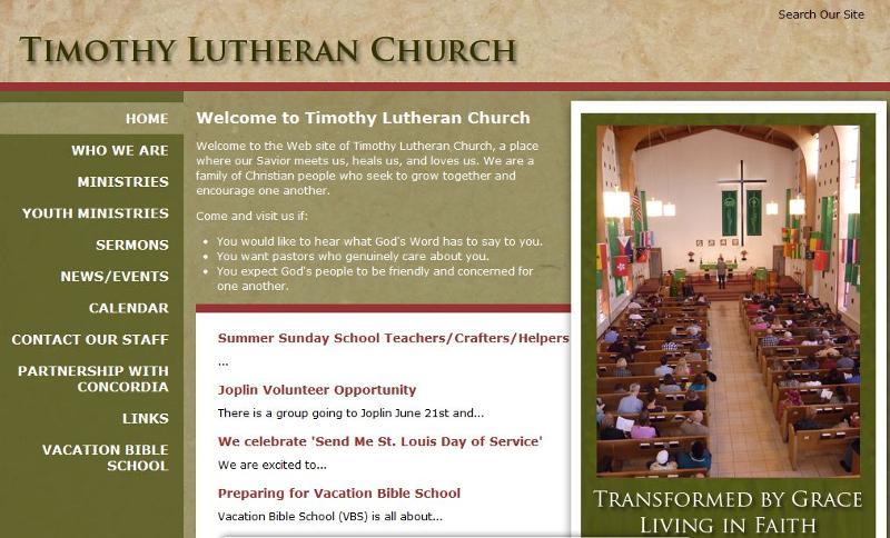 Timothy Website