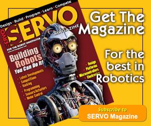 Subscribe To SERVO Magazine
