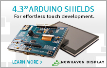 Newhaven Display 4.3_ Arduino Shields