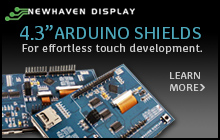 4.3_ Arduino Shields Newhaven Display